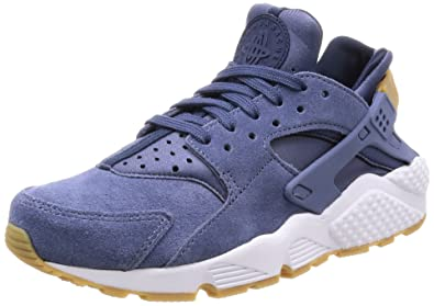 sale retailer e60a4 352c5 Nike Air Huarache Run Suede Womens Shoes Diffused Blue aa0524-400 (10.5 B(
