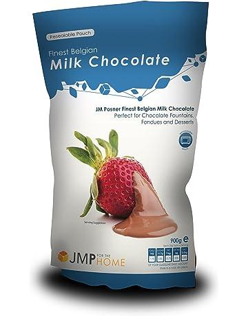 Chocolate con Leche Belga de la Más Alta Calidad, Bolsa de 900g – Apta para
