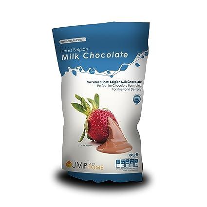 Schokolade Für Schokobrunnen Vollmilch 900 Gr Jm Posner Amazon