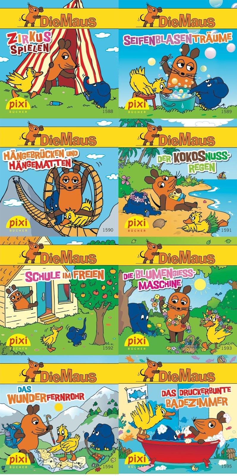 Pixi-Bundle 8er Serie 177: Die Maus