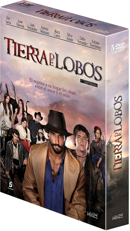 Amazon.com: Tierra De Lobos. 1ª Temporada Digipack (5 Dvd) : Juan Fernandez, Junio Valverde, Antonio Velazquez, Silvia Alonso, Maria Castro.