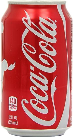 Coca Cola Classic 355 ml (Pack of 12): Amazon.es: Electrónica