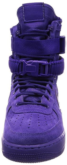 premium selection 5e3da 4937d Amazon.com  Nike Mens SF Air Force 1 Athletic  Sneakers Purple   Basketball