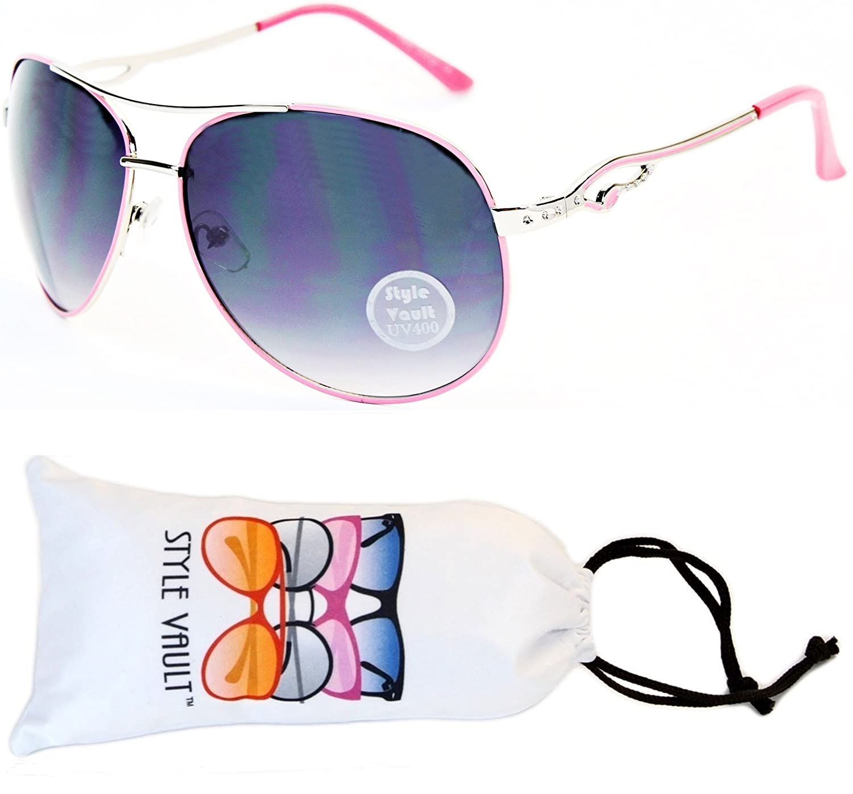 A139-vp Style Vault Aviator Metal Sunglasses