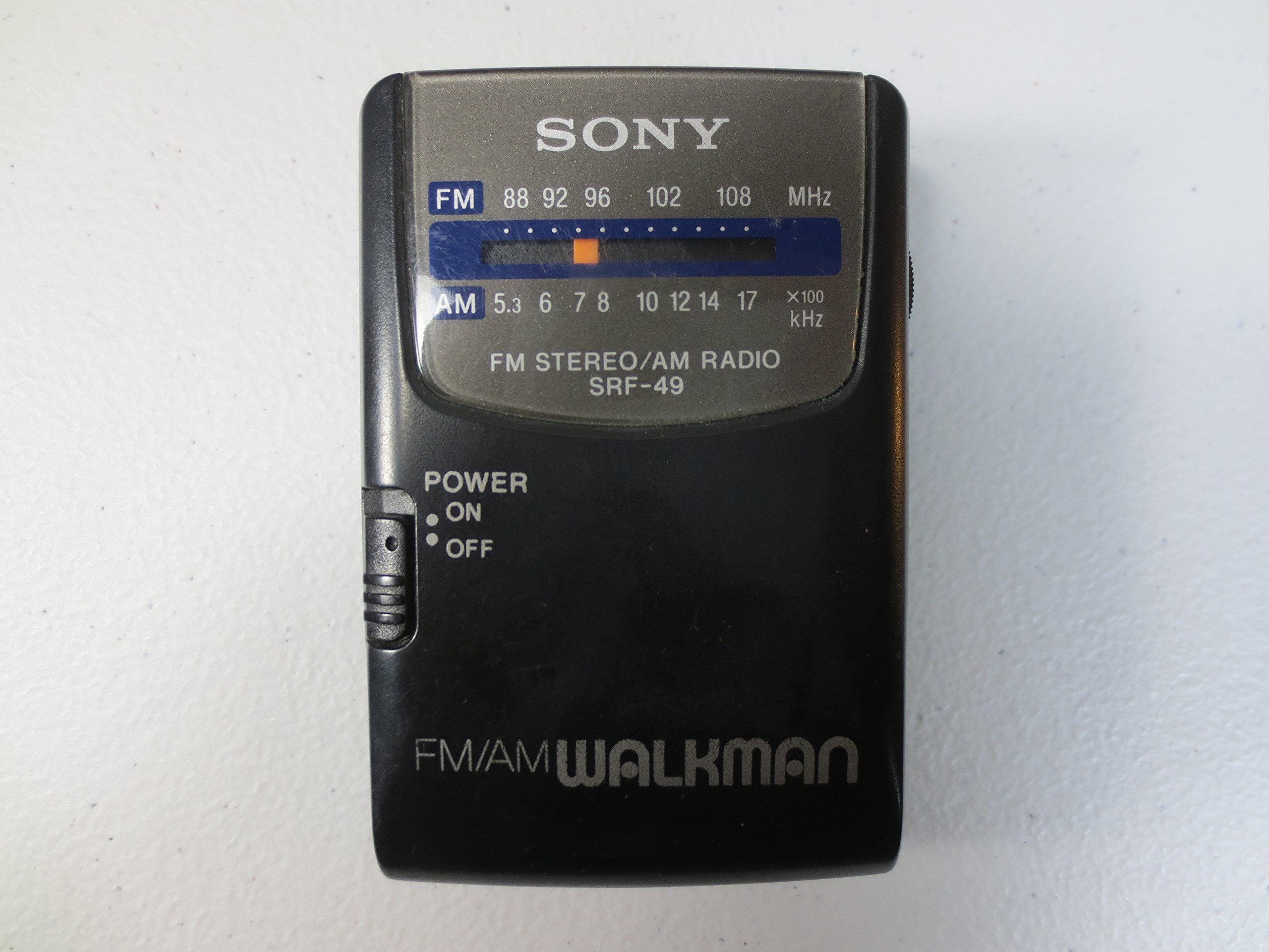 Sony FM/AM Walkman SRF-49 Vintage