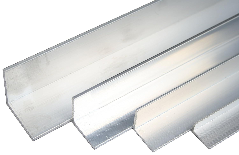Aluminium Winkel 40x40x4mm Länge 1000mm Alu AlMgSi05 F22 Aluwinkel Profil