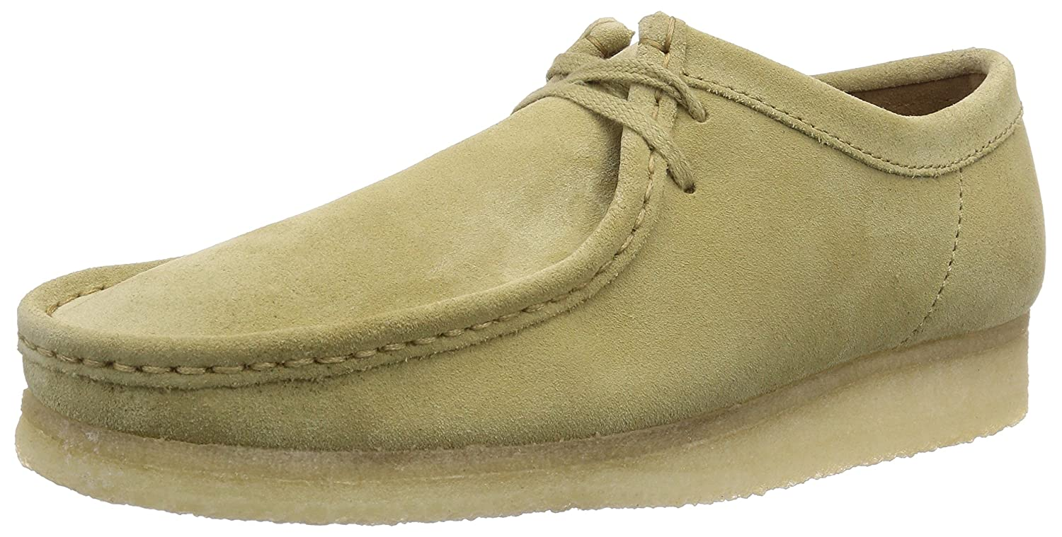 Clarks Originals 261227087, Mocasines Hombre, Beige (Maple Suede), 45 EU