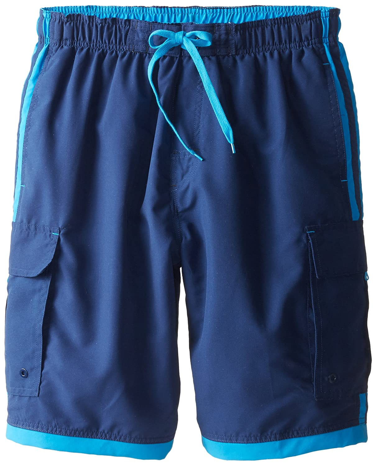 Burnside Men's Impersonator Elastic Waist Swim Trunk Burnside Young Men's AZBD9401B
