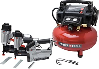 Porter-Cable 6 Gal. Portable Air Compressor Combo Kit