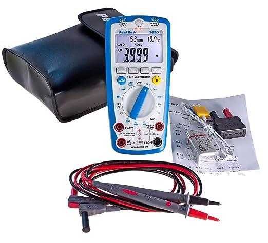 Peaktech P 3690 Digital Multimeter Gewerbe Industrie Wissenschaft