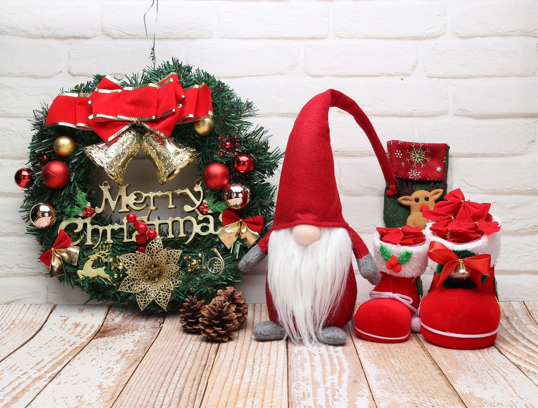 Amazon.com: iGnome 19 Inches Handmade Christmas Gnome Decoration ...