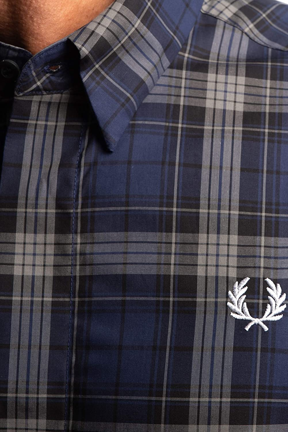 Fred Perry Camisa Bold Tartan