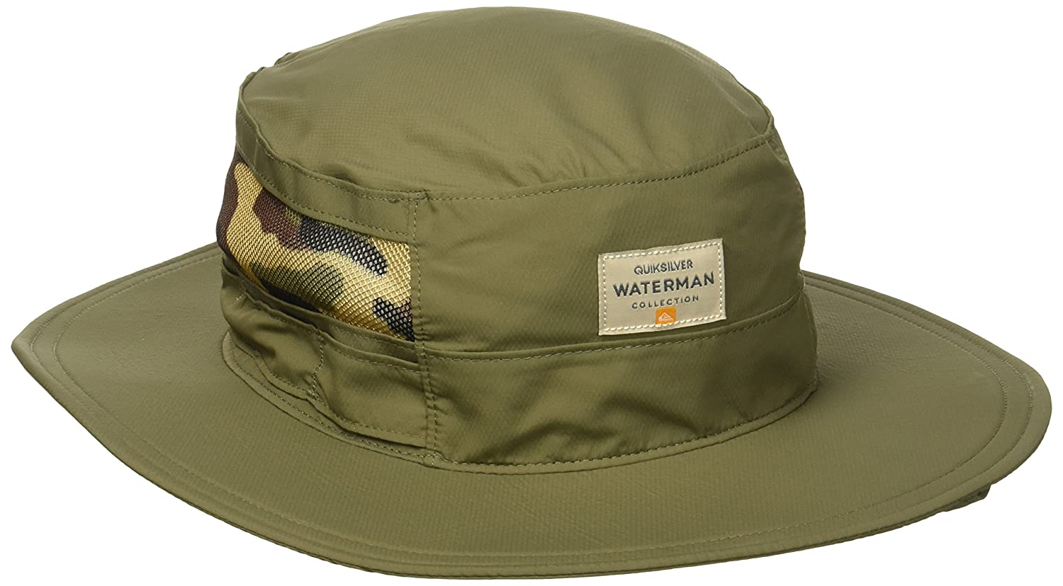 dc98397bd9026 ... promo code for amazon quiksilver waterman mens paddlebank hat wreath s  m clothing 0076a ad29d