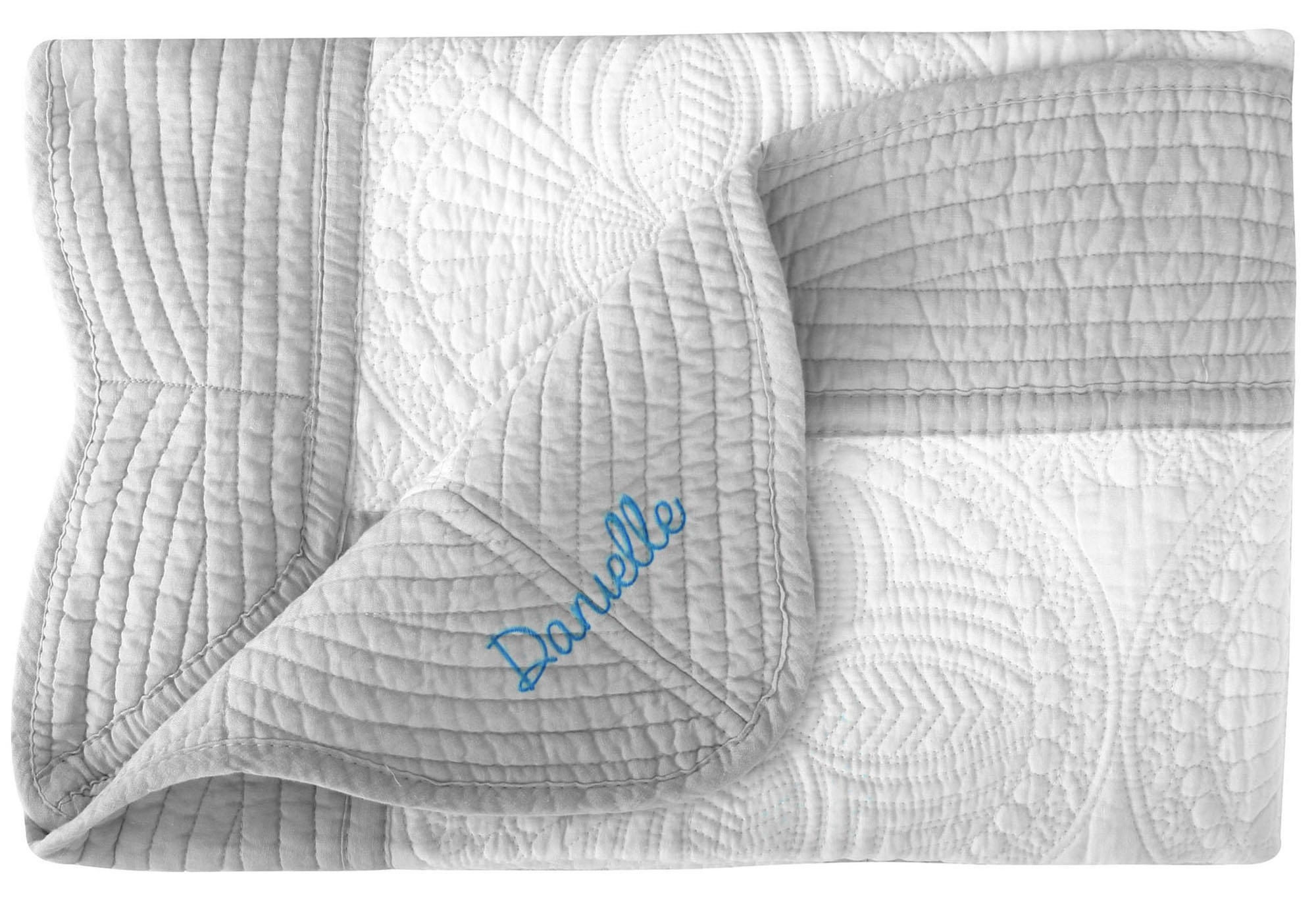 Personalized Light Weight Cotton Quilt for Babies and Toddlers All Weather