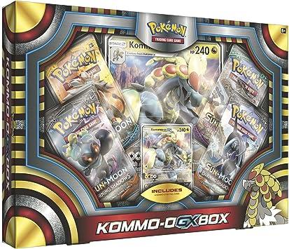 Pokémon POC488 Kommo-O-GX - Caja: Amazon.es: Juguetes y juegos