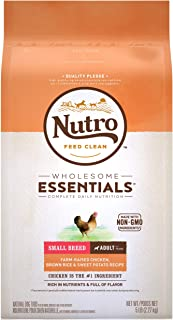product image for Nutro Wholesome Essentials Natural Adult Dry Dog Food for Small & Toy Breeds