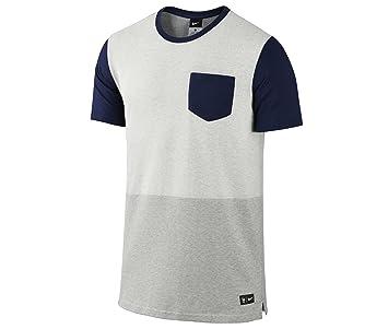 Nike FFF AUTH Sideline Top - Camiseta de fútbol para Hombre, Color Verde/Azul Marino, Talla L: Amazon.es: Deportes y aire libre