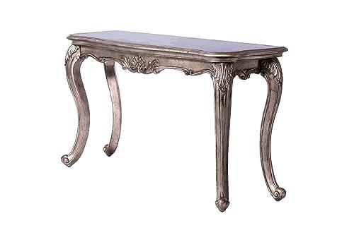 ACME Furniture Chantelle Sofa Table, Antique Platinum