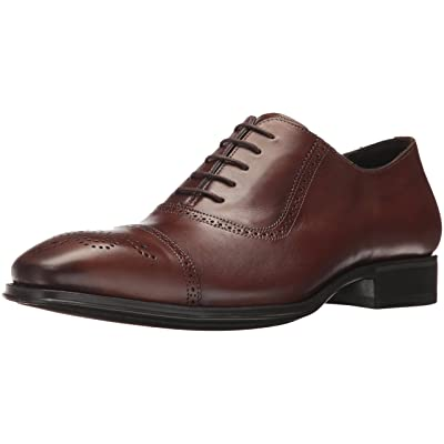 Mezlan Men's 18124 Oxford, Cognac, 8.5 US/8.5 M US | Oxfords