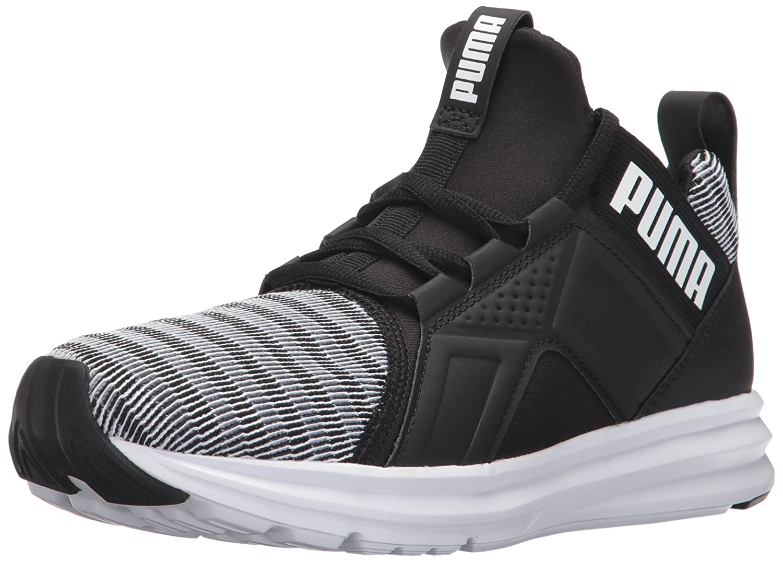 PUMA Women's Enzo Colorshift Wn Sneaker B01N9IHFF6 8.5 M US|Puma White-puma Black