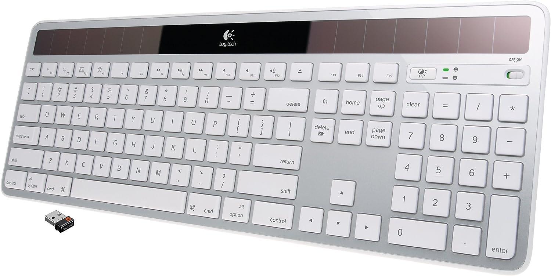 Logitech Wireless Solar Keyboard K750 for Mac - Retail Box - Silver