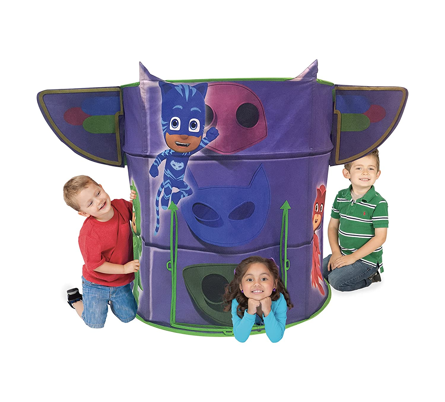 Playhut PJ Masks Headquarters Play Tent Inc. 72865EO