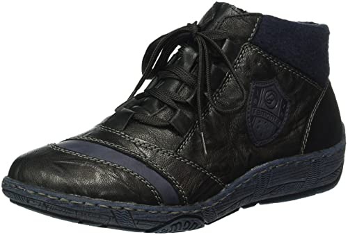 94a444519470e Dorndorf/Remonte Womens Boots Black/Ocean/Black/Navy Size 8.5 B(M ...
