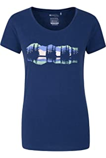 Mountain Warehouse London Skyline Printed Womens Tee Tshirt