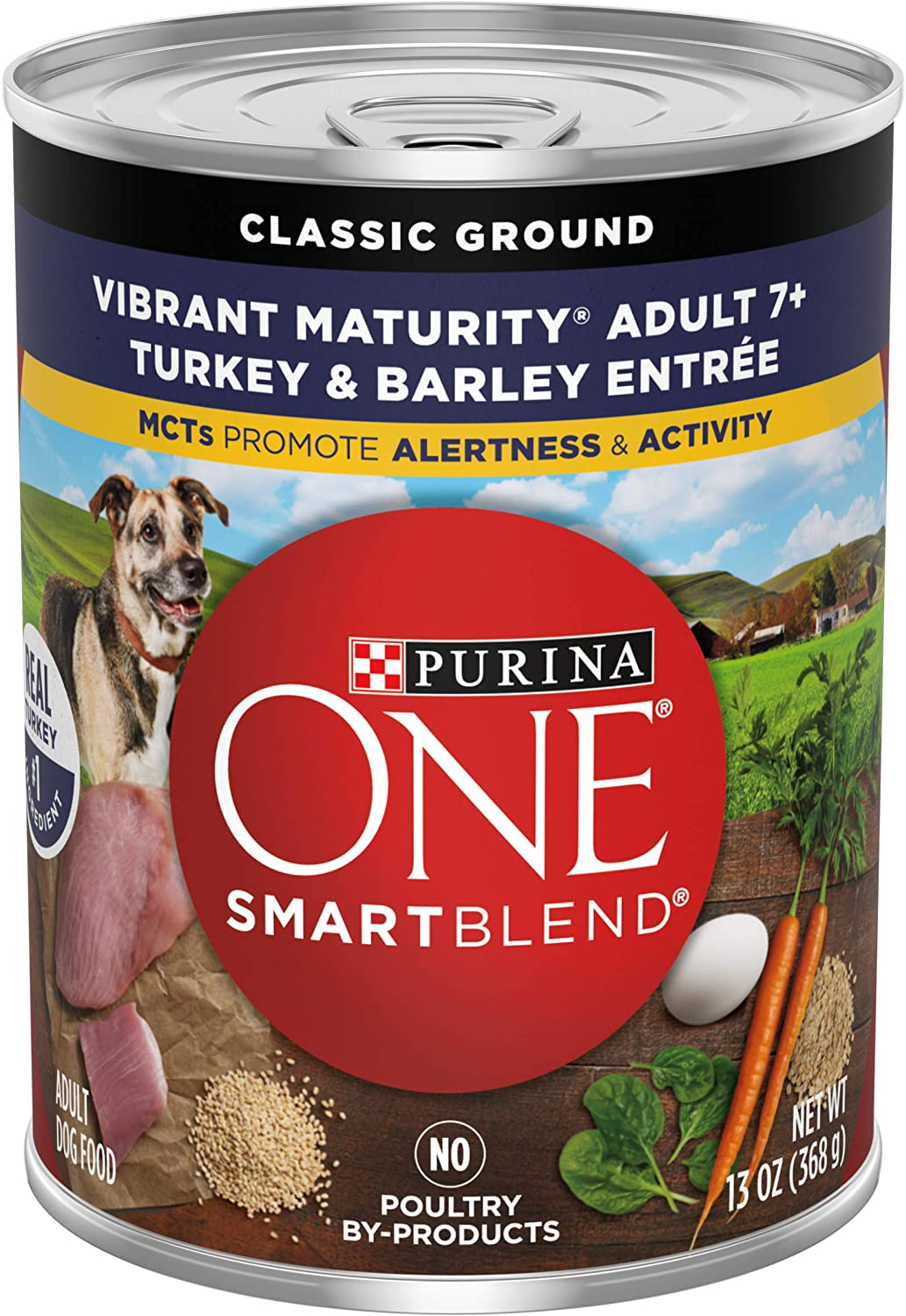 Purina ONE SmartBlend Vibrant Maturity Senior 7+ Formula Dog Food