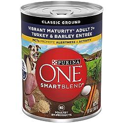 Purina One SmartBlend Vibrant Maturity 7+ Formula Dog Food