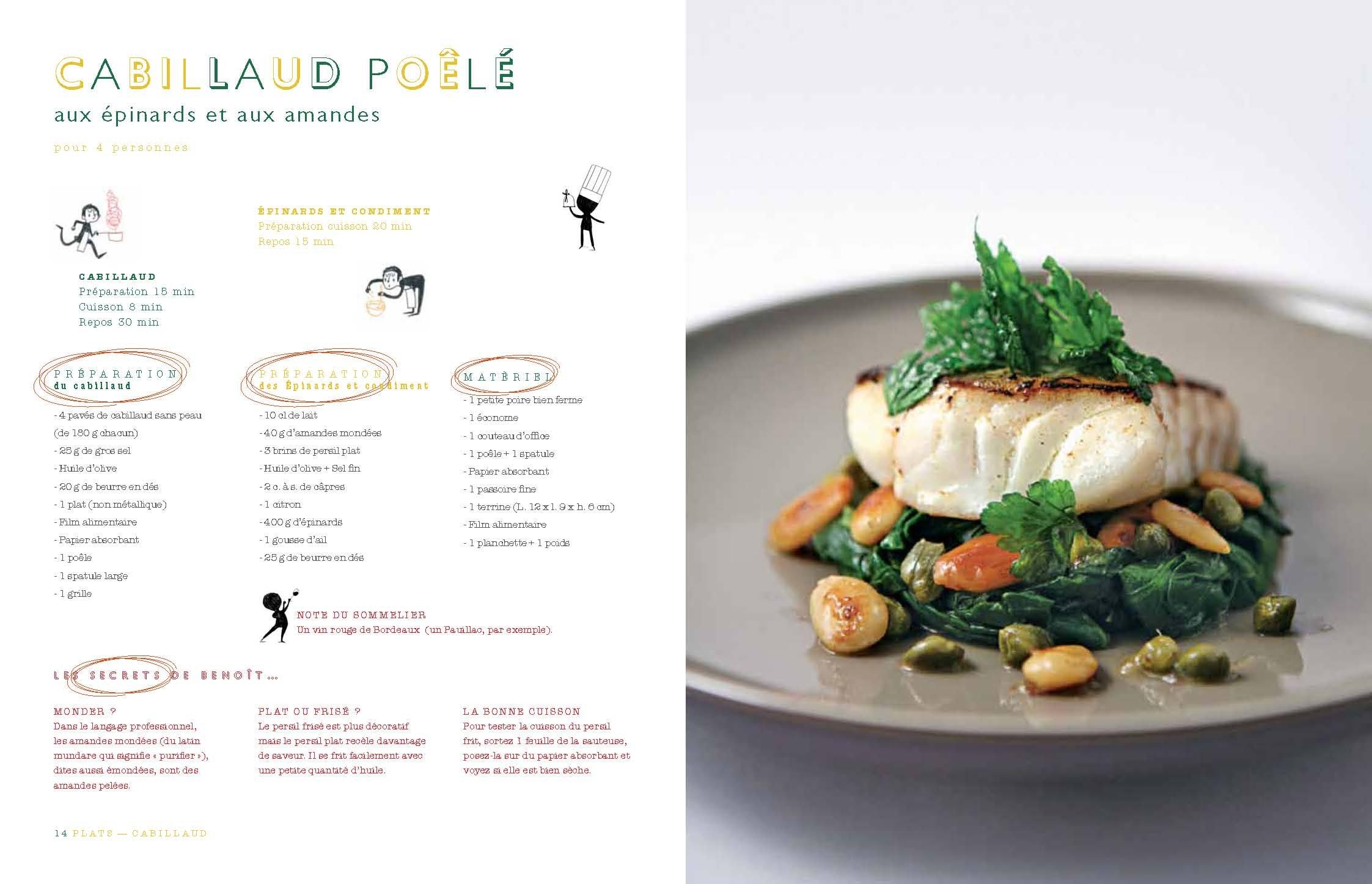190 cours illustrés à l'école de cuisine Alain Ducasse: 9782841233601:  Amazon.com: Books