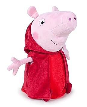 Peluche Peppa Pig - caperucita roja - 30 cm