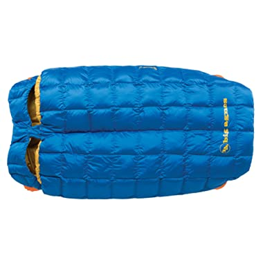 Big Agnes - Sentinel 30 Sleeping Bag with 600 DownTek Fill, 40  Double Width