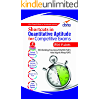 Shortcuts in Quantitative Aptitude with 4 Ebooks for Competitive Exams