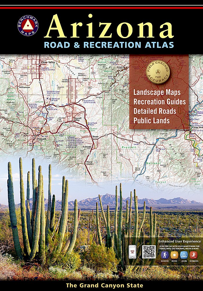 Arizona National Geographic Guide Map product image