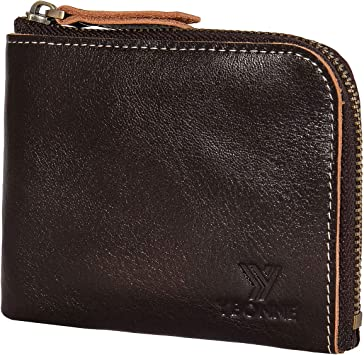 WOMENS MENS NEW REAL LEATHER PLAIN COLOURS SMALL CARD HOLDER