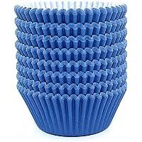 Eoonfirst Standard Size Baking Cups 200 Pcs (Aqua Blue)