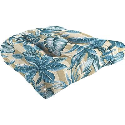 Jordan 18X18 Wicker Cushion Free CHAMBRA : Garden & Outdoor