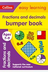 Fractions & Decimals Bumper Book Ages 7-9: Prepare for school with easy home learning (Collins Easy Learning KS2) Kindle Edition