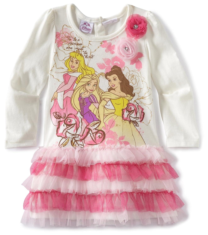 Amazon.com: Disney Little Girls\' Toddler Disney Princess Dress ...