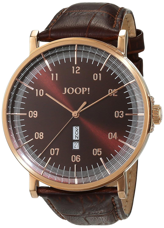 Joop! Herren-Armbanduhr Executive Analog Quarz Leder JP100821F05
