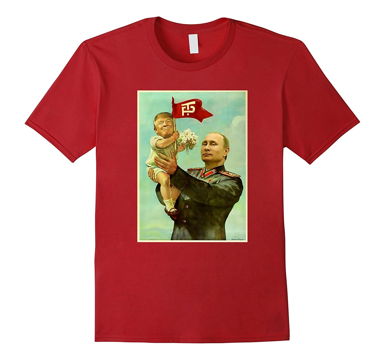 Funny Baby Trump Putin 2017 T Shirt-Vaci
