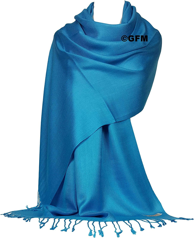 GFM/® Pashmina Style Wrap Scarf B9 Twill Weave Soft All Seasons