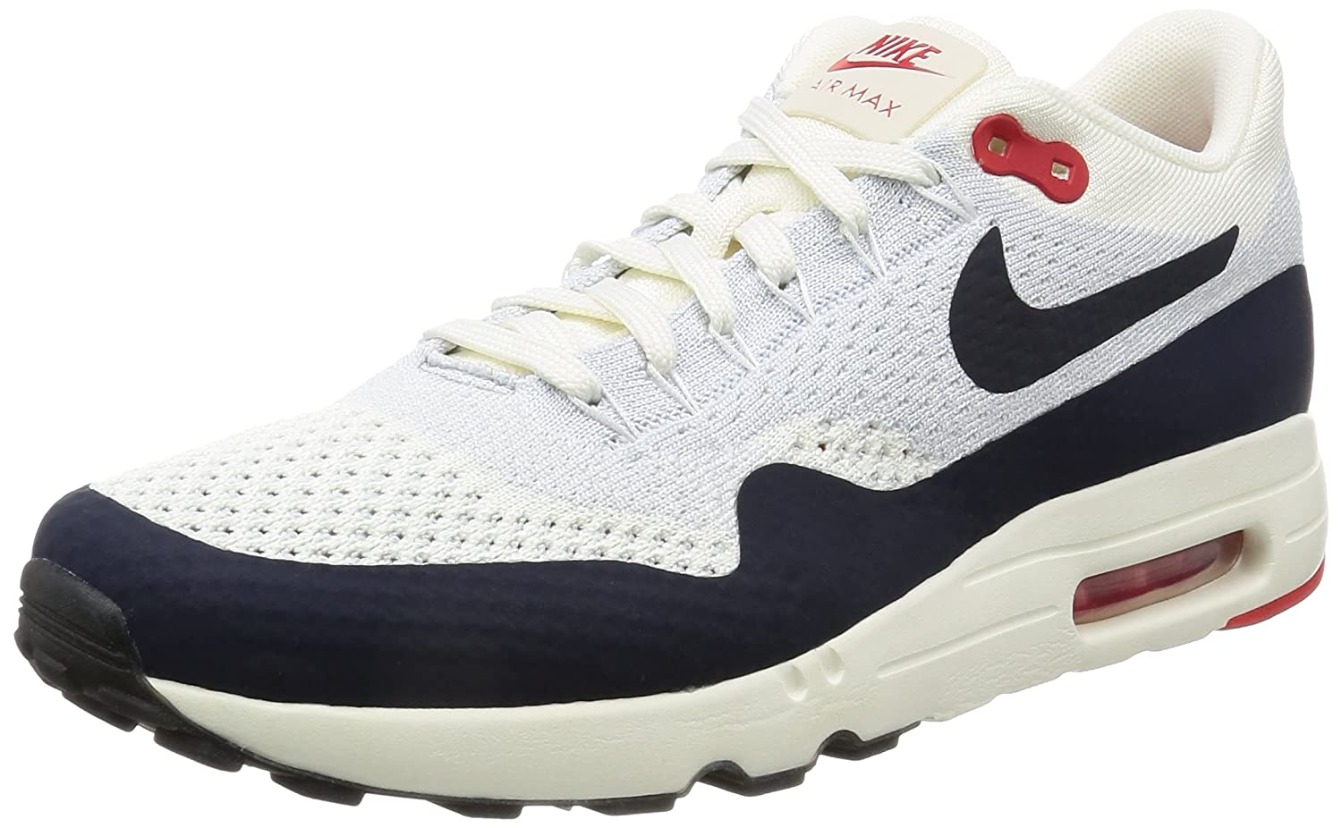 f45ae04dfbd04 Nike - Air Max 1 Ultra 20 Flyknit Obsidian - 875942100 - Pointure  42.5   Amazon.fr  Chaussures et Sacs