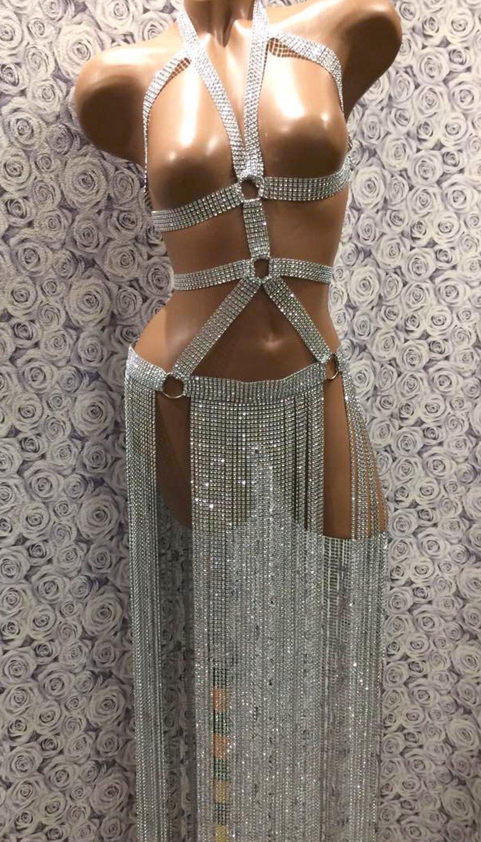 Rhinestones Skirt, Rave Skirt, Sexy Dancewear, Rave Clothing, Festival Clothing, Sexy Wear, Sexy Dress, Exotic Dancewear, Sexy Lingerie, Dancewear, Party Dress, Fashion Skirt, Stripper Skirt,