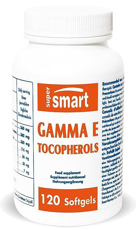 Supersmart MrSmart - Vitaminas - Gamma E tocopherol+tocotrienol - contiene tocoferoles naturales que proporcionan