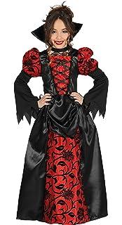 Costume da contessa vampiro per bambina Halloween 7 9 anni (122 134 ... 0cfad2571c7d