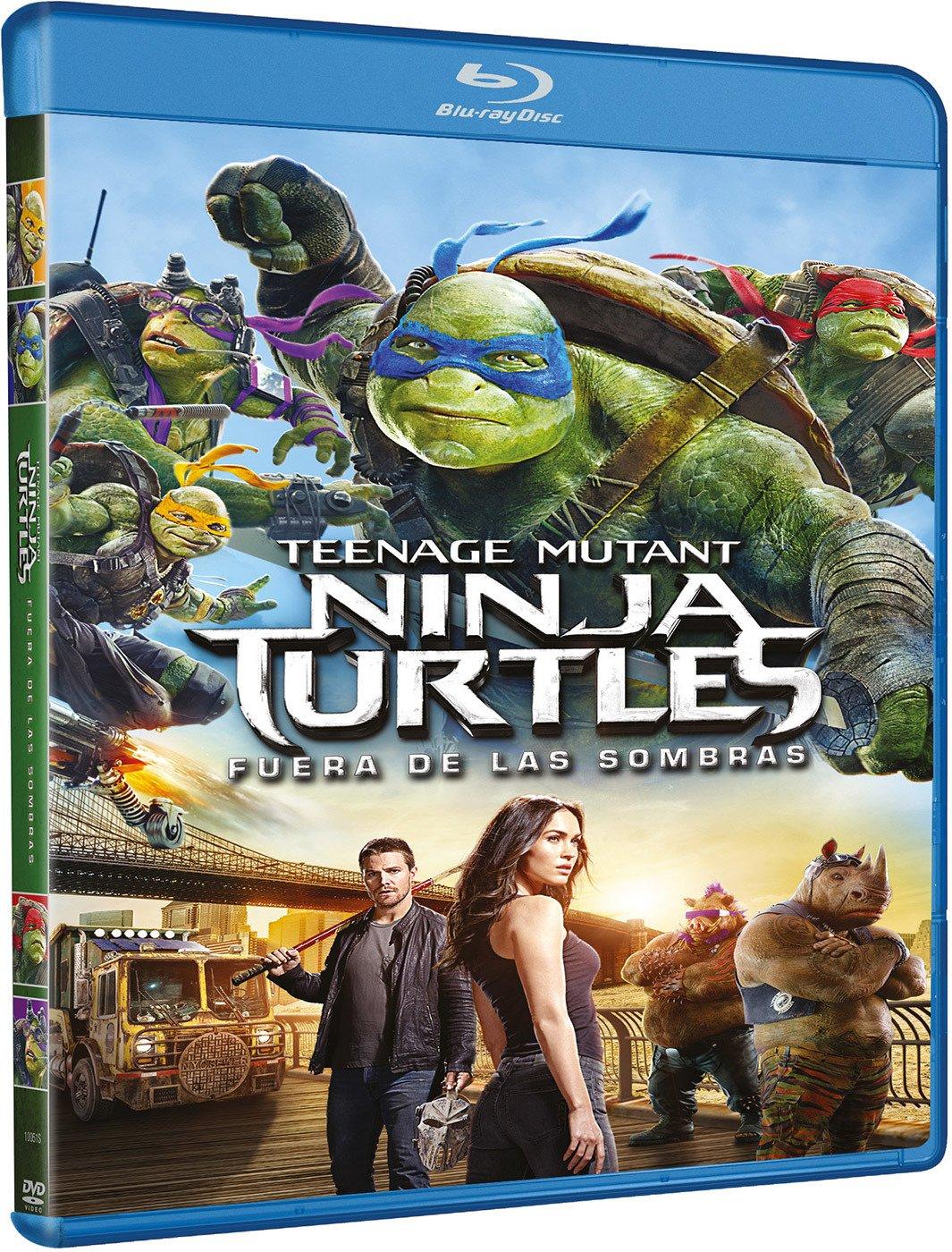 Ninja Turtles: Fuera De Las Sombras [Blu-ray]: Amazon.es ...