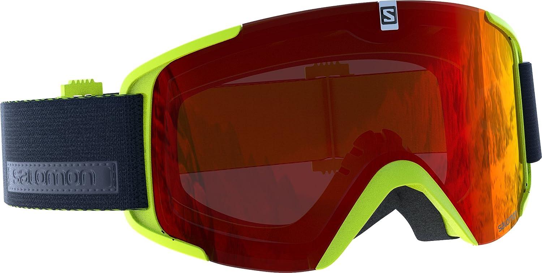 Salomon, Gafas de esquí Unisex, Sistema Airflow, XVIEW