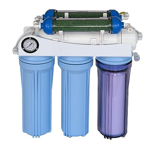 Koolermax AR-122 6-stage RO+DI Aquarium Reef RO system 80 to 120 GPD